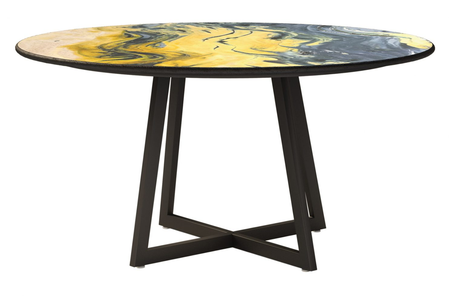 etna dining round 390FT005P2SG front low