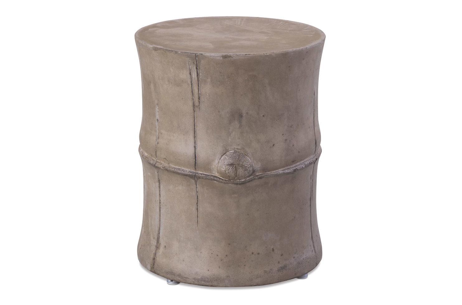 Perpetual Bamboo Stool 501FT045P2G, Gray