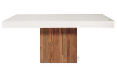 Perpetual Sparta Table 501FT043P2W, White