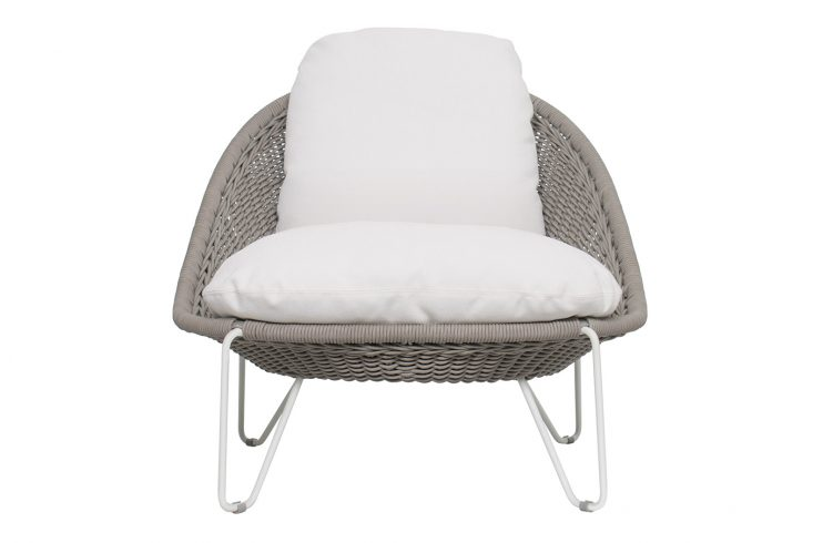 Archipelago Aegean Lounge Chair 620FT020P2CWT 1 front