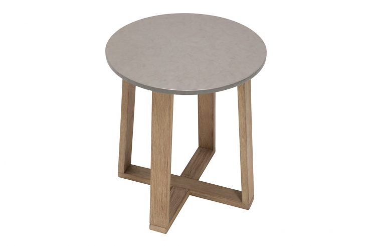 Fuego Accent Table 504FT306P2BDW 3Qhigh