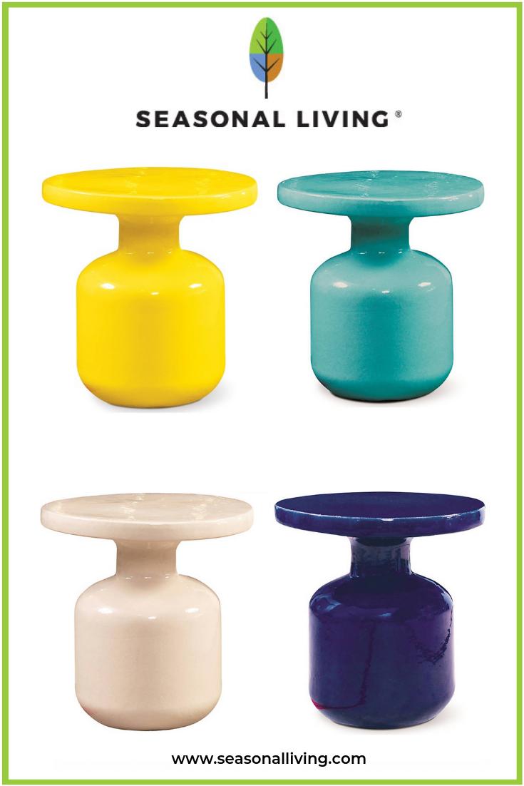 Best Indoor Outdoor Ceramic Occasional Tables