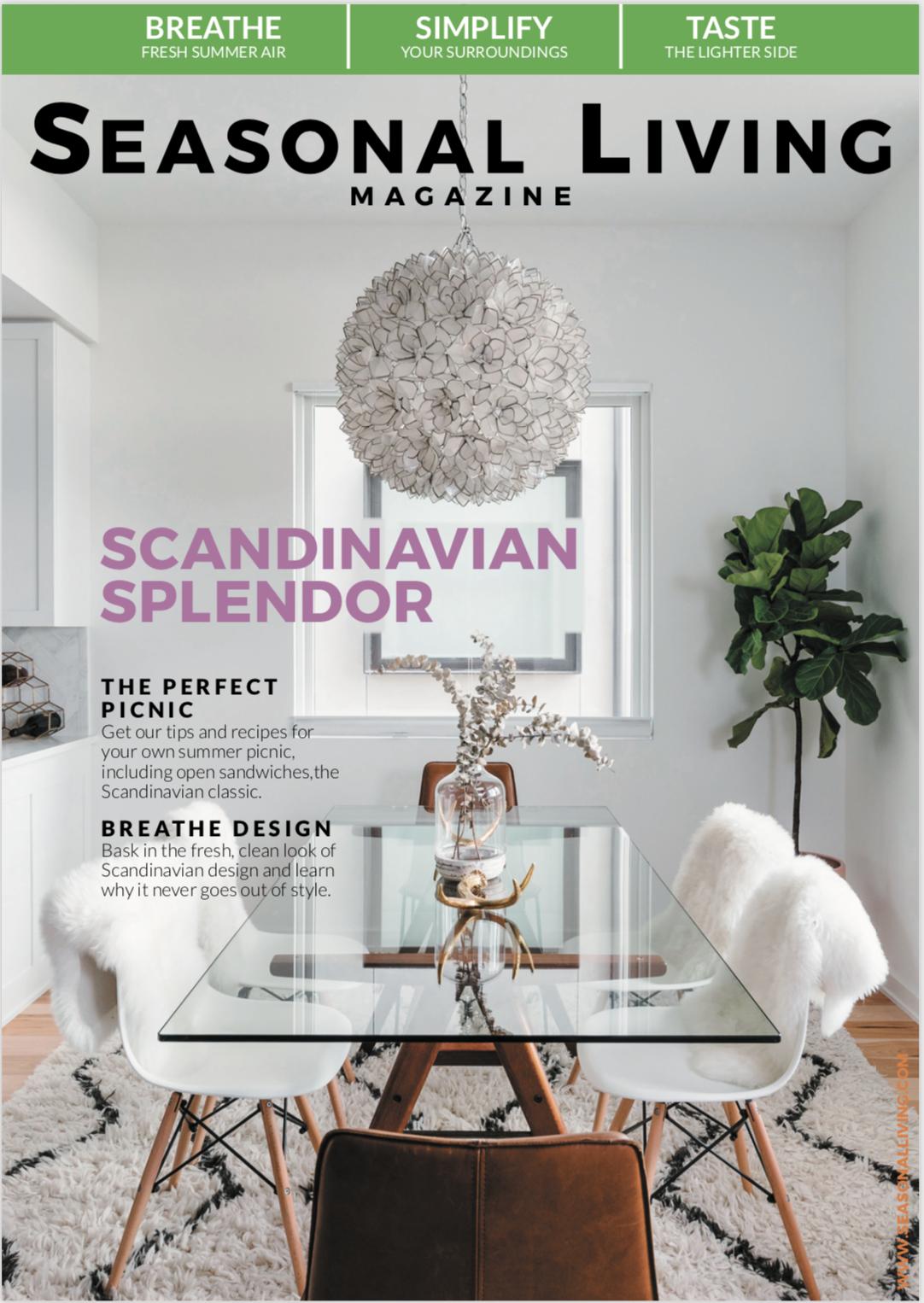 Seasonal Living Magazine Scandinavia