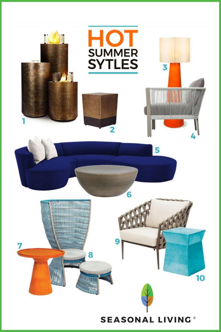 Award winning indoor outdoor furniture and lighting from Seasonal Living