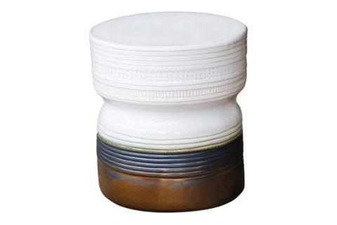 Ceramic ancaris stool 308FT342P2SWG