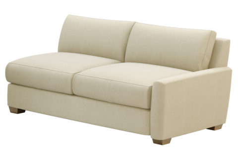 fizz imperial one arm apartment sofa 105FT004P2 SS RAF