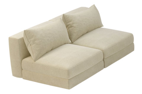fizz julep armless loveseat 105FT002P2 ALS