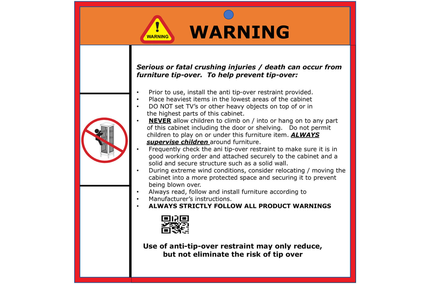 wings cabinet 504FT420P2G E dtl 11 warning label