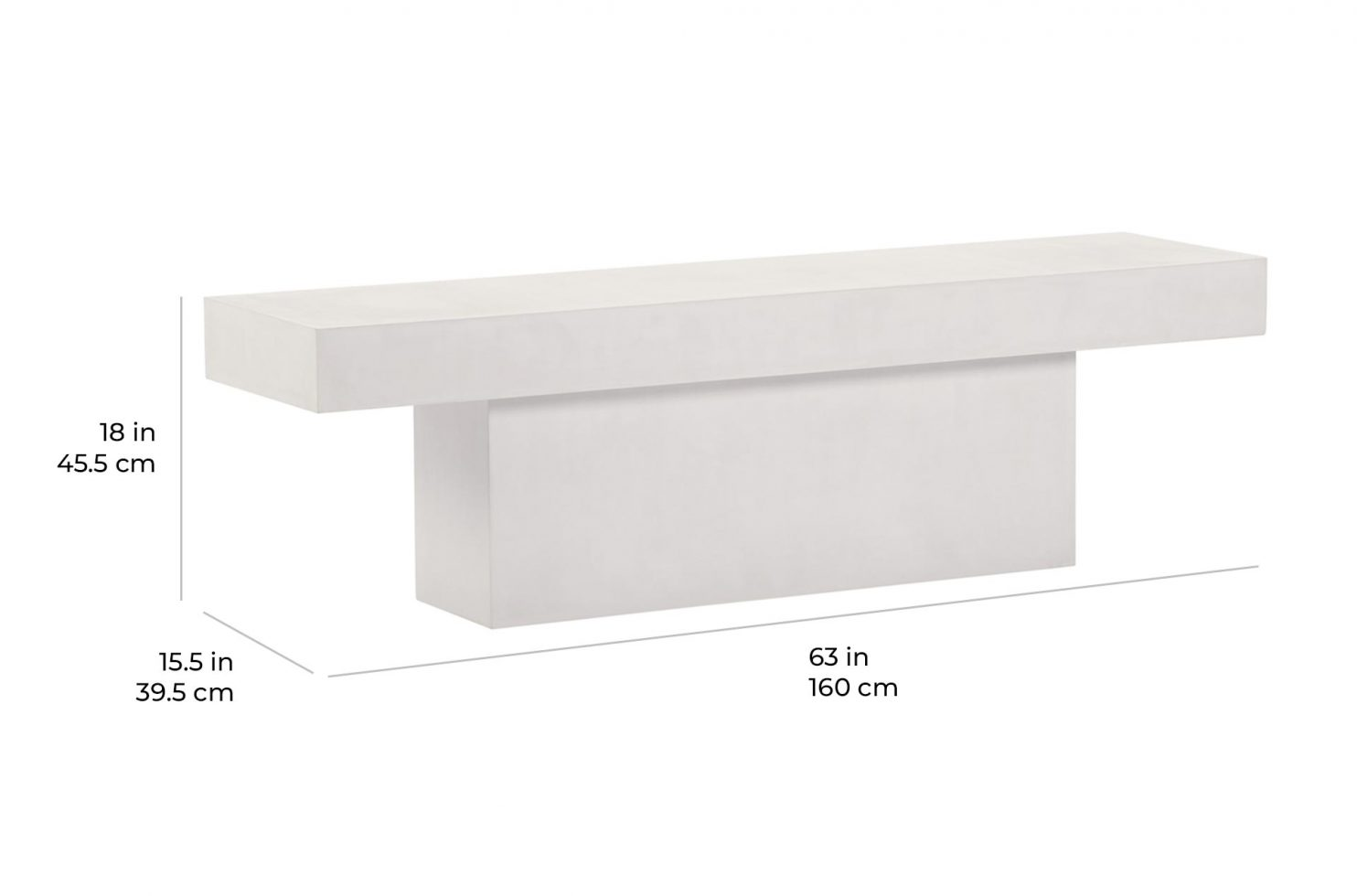 perp t bench P501992202 scale dims