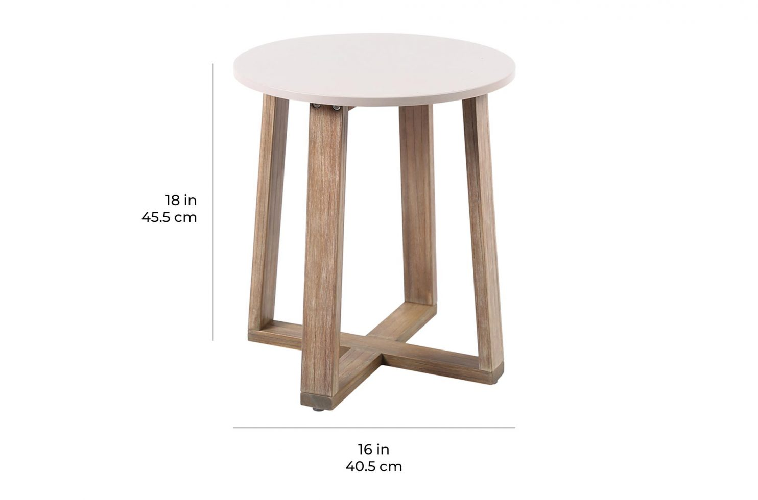 wings accent table E50499319 scale dims