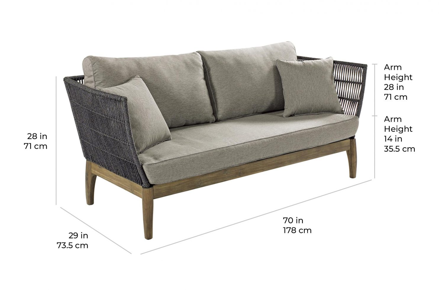 wings sofa E50499002 scale dims