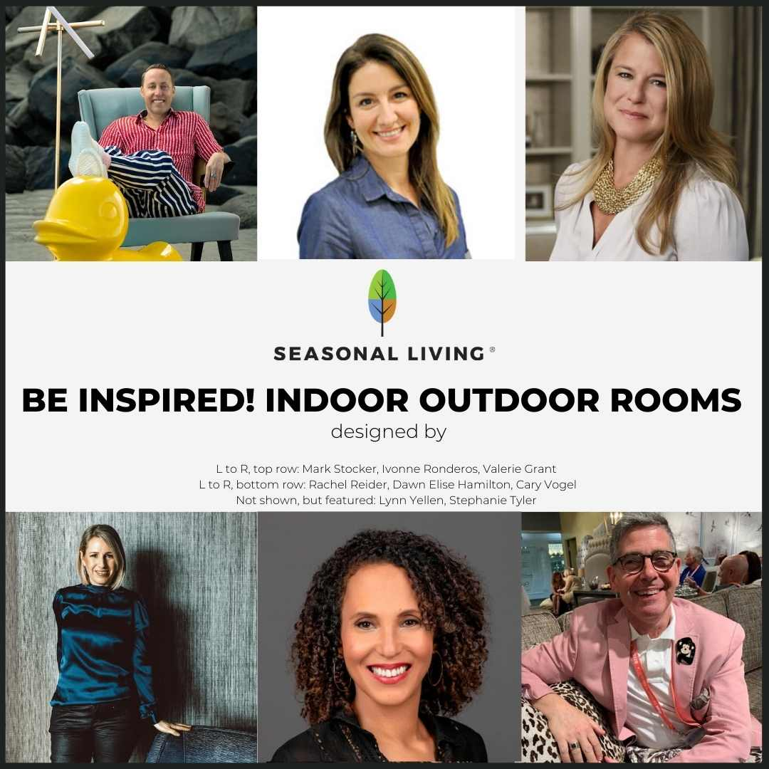 6 Designers Using Seasonal Living's Products In Their Indoor Outdoor Rooms