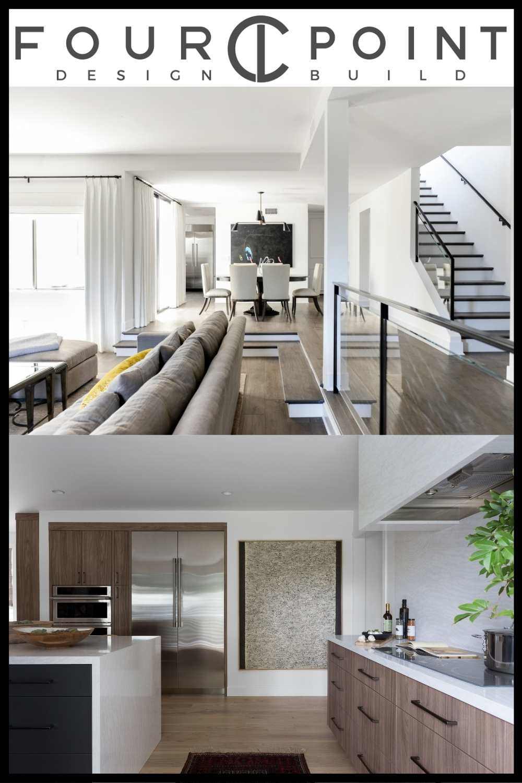 The interior design work of Laura Muller of Four Point Design Build
