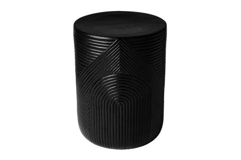 prov cer serenity textured side table 14in C30802532 coal 1 main1 web