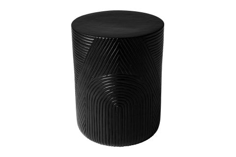 prov cer serenity textured side table 16in C30802032 coal 1 main1 web