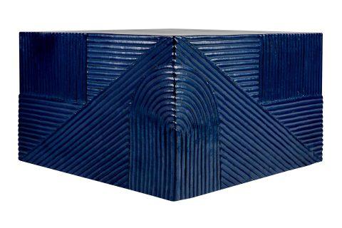 prov cer textured square table 24in C30803033 indigo 1 main web