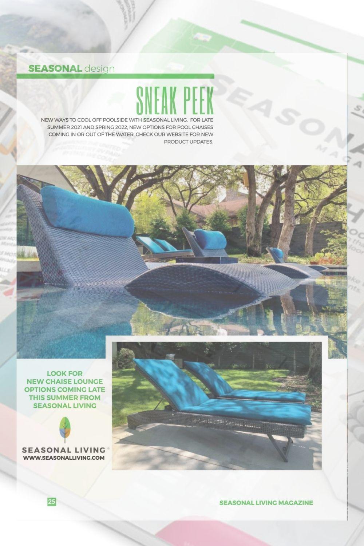 Best In Pool Chaises for Seasonal Living