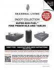 Seasonal Living Ingot Fire User Manual 091421 COVER
